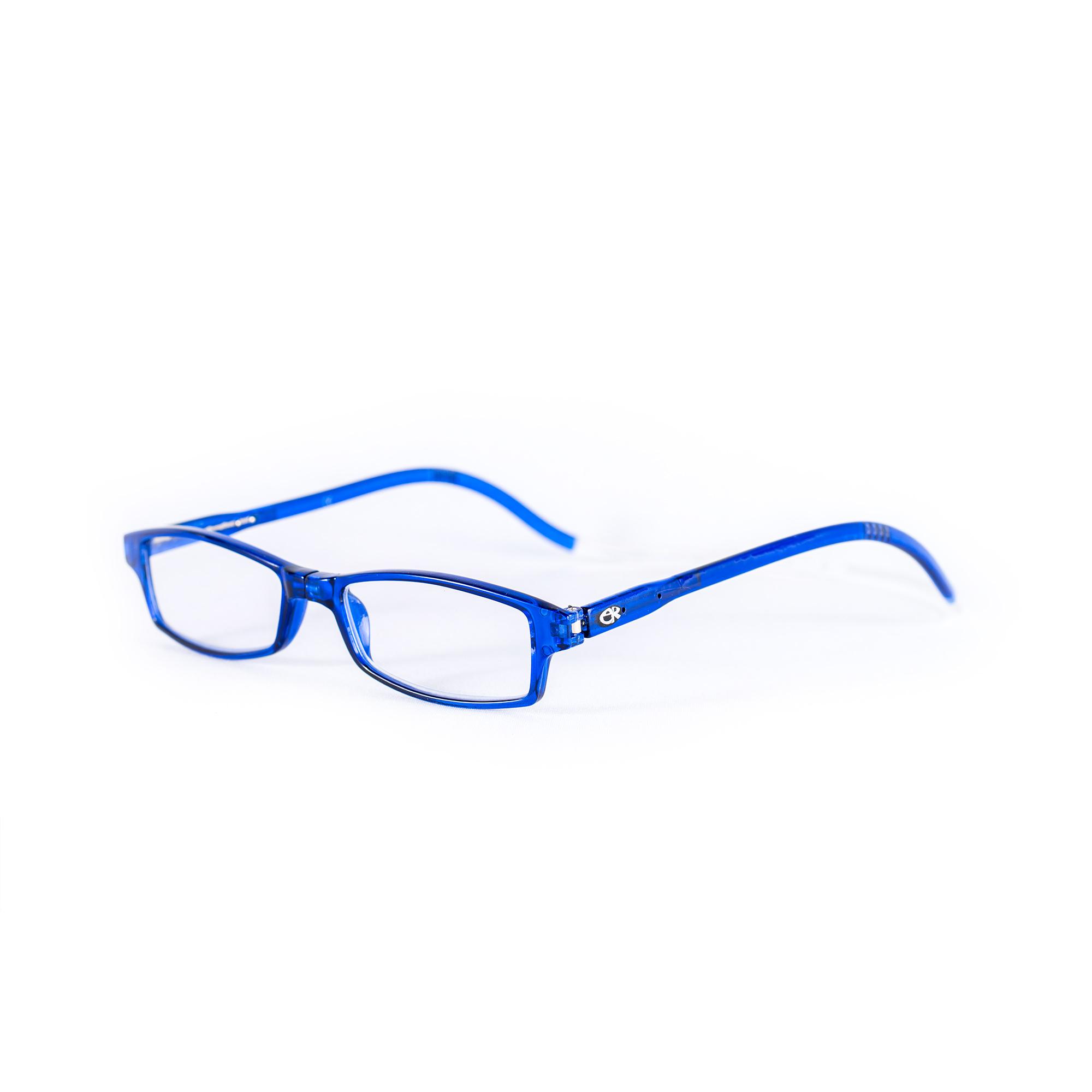 Easy Reader magneetleesbril leesbril met magneetsluiting square blauw