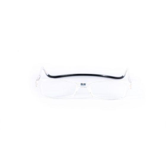 Easy Reader magneetleesbril leesbril met magneetsluiting square transparant