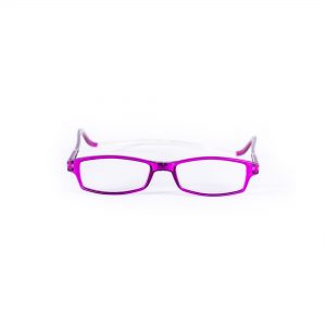 Easy Reader magneetleesbril leesbril met magneetsluiting square paars