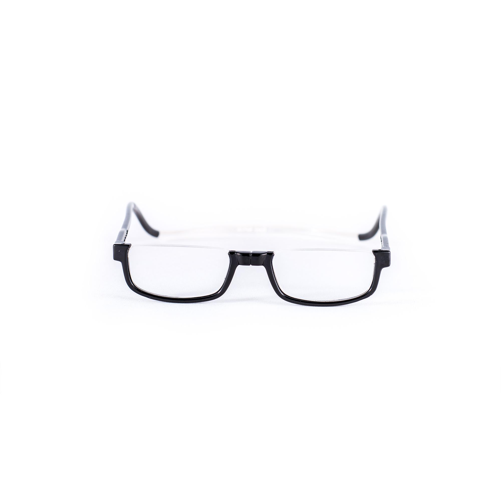 Easy Reader magneetleesbril leesbril met magneetsluiting halfrond zwart