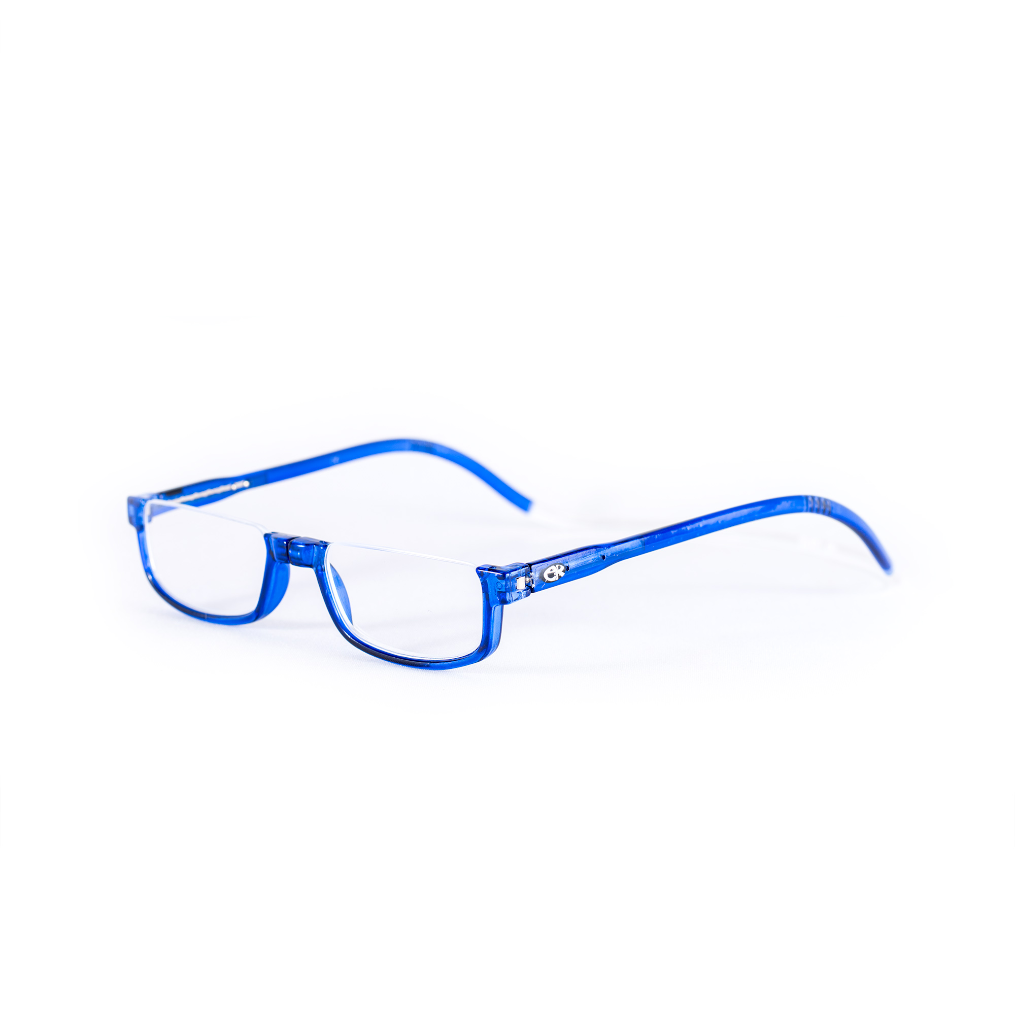 Easy Reader magneetleesbril leesbril met magneetsluiting halfrond blauw