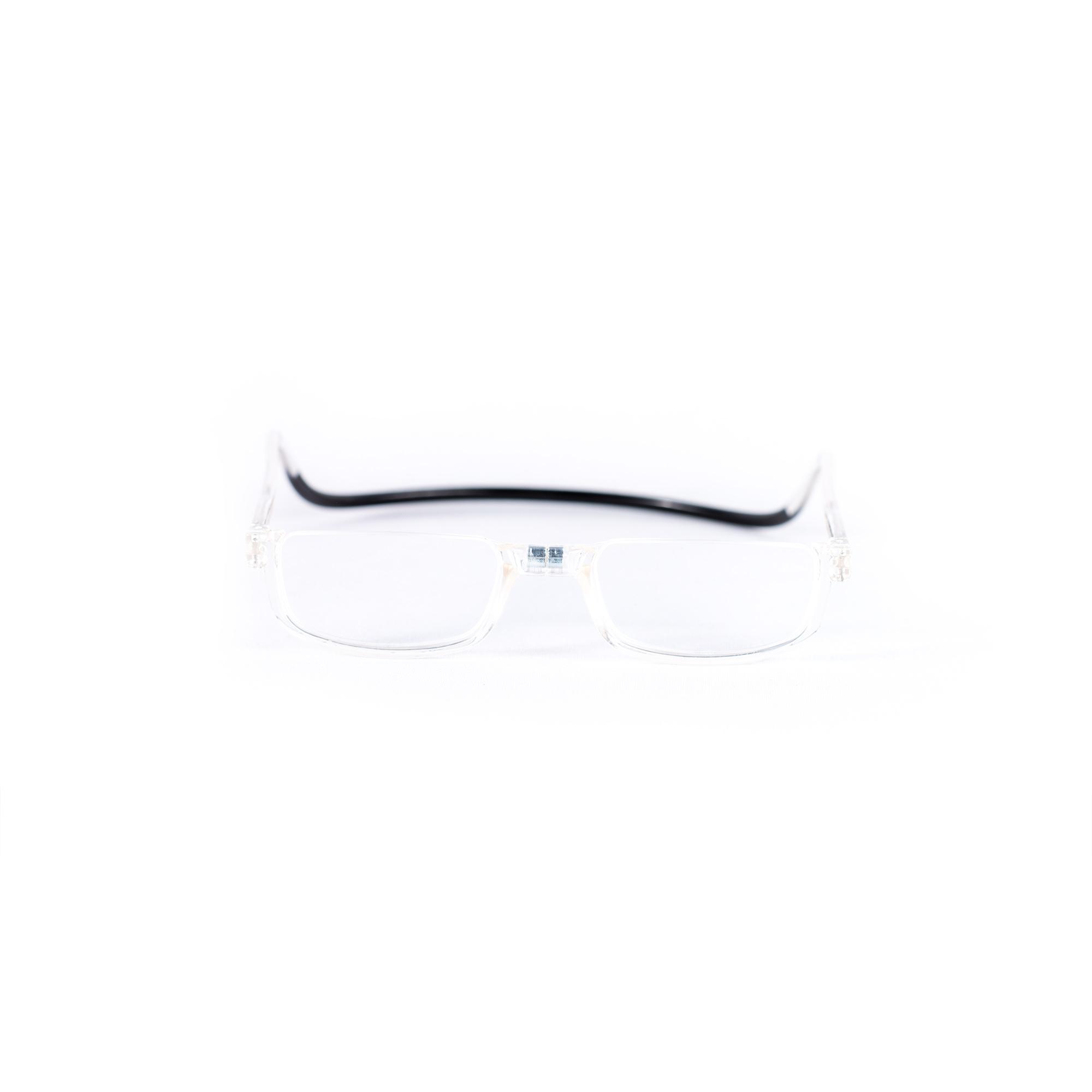 Easy Reader magneetleesbril leesbril met magneetsluiting halfrond transparant