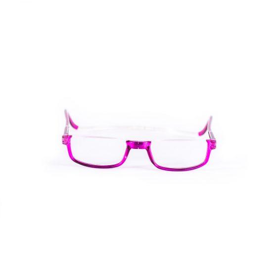 Easy Reader magneetleesbril leesbril met magneetsluiting halfrond paars
