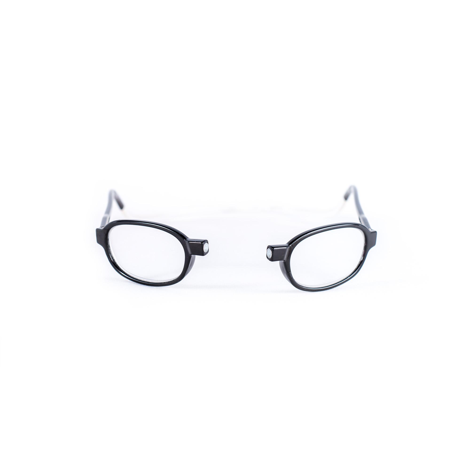 Easy Reader Magneetleesbril leesbril met magneetsluiting rond zwart