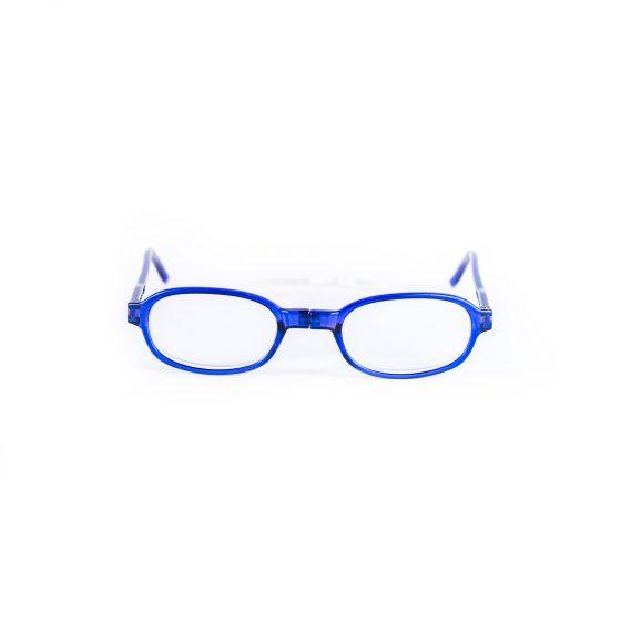 Easy Reader Magneetleesbril leesbril met magneetsluiting rond blauw