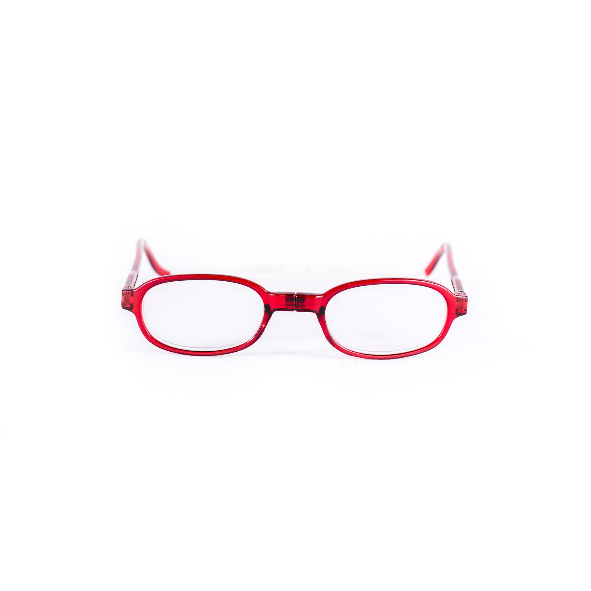 Easy Reader Magneetleesbril leesbril met magneetsluiting rond rood