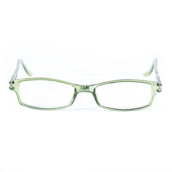 Easy Reader magneetleesbril leesbril met magneetsluiting square groen