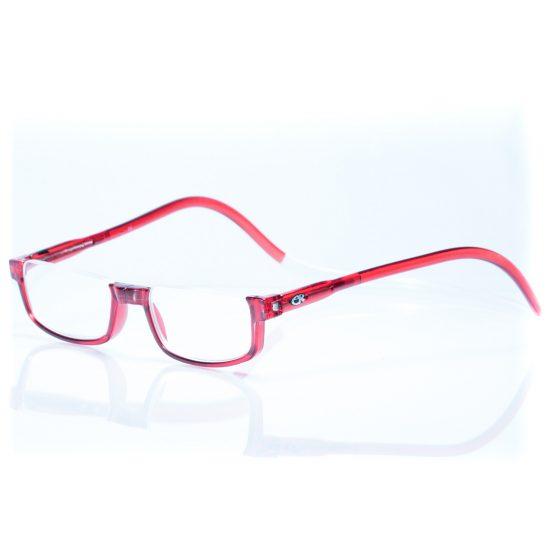 Easy Reader magneetleesbril leesbril met magneetsluiting halfrond rood