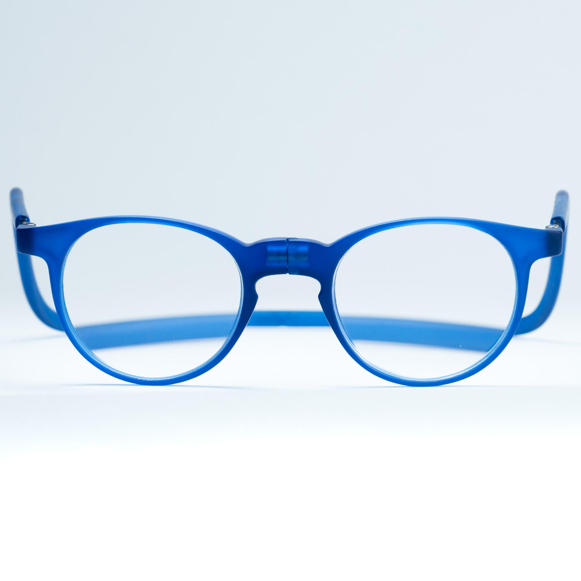 Easy Reader magneetleesbril leesbril met magneetsluiting model robin blauw