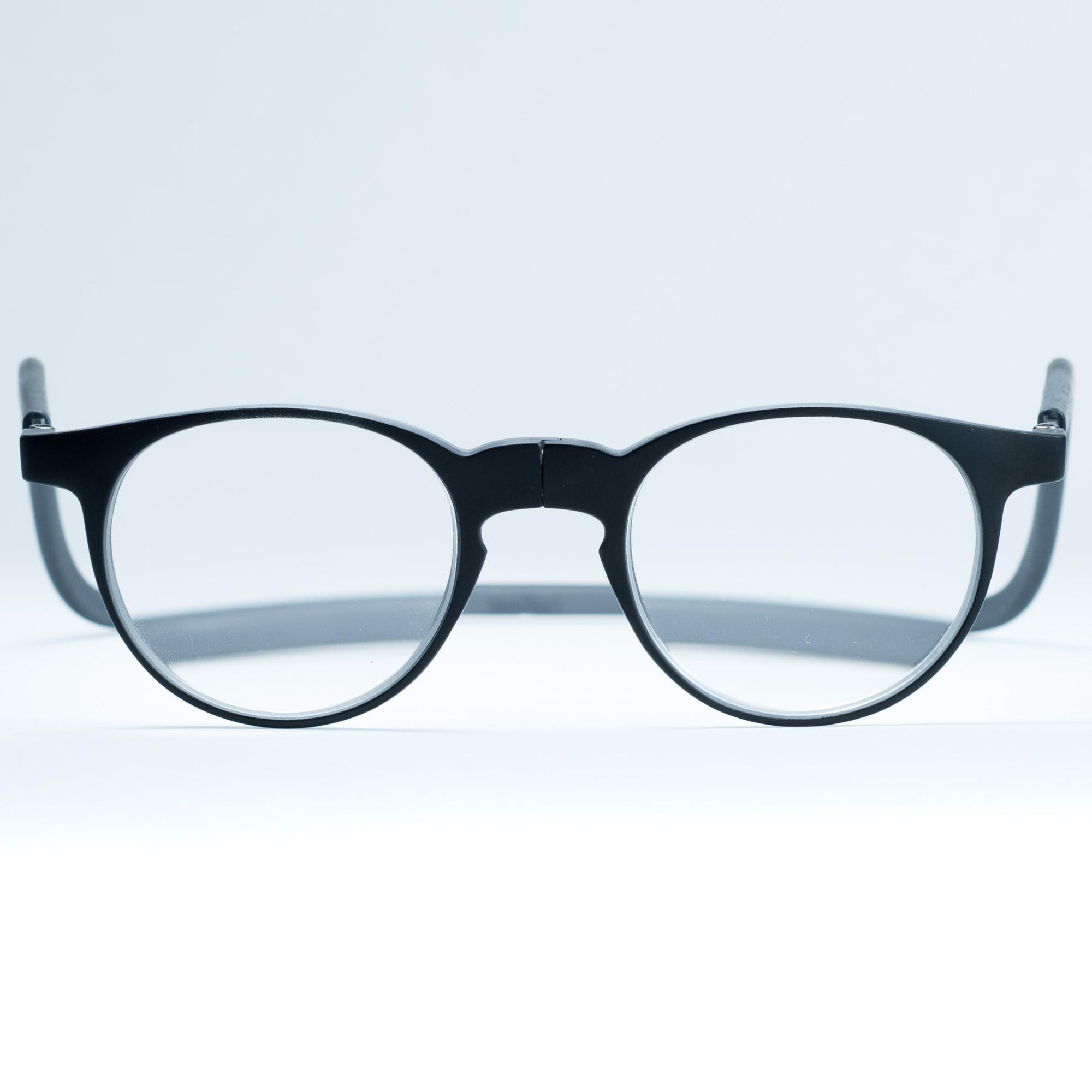 Easy Reader magneetleesbril leesbril met magneetsluiting model robin grijs