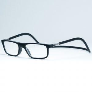 Easy Reader magneetleesbril leesbril met magneetsluiting model sam zwart