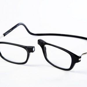 Easy Reader magneetleesbril leesbril met magneetsluiting model Classic XL zwart