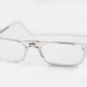 Easy Reader magneetleesbril leesbril met magneetsluiting model Classic XL transparant