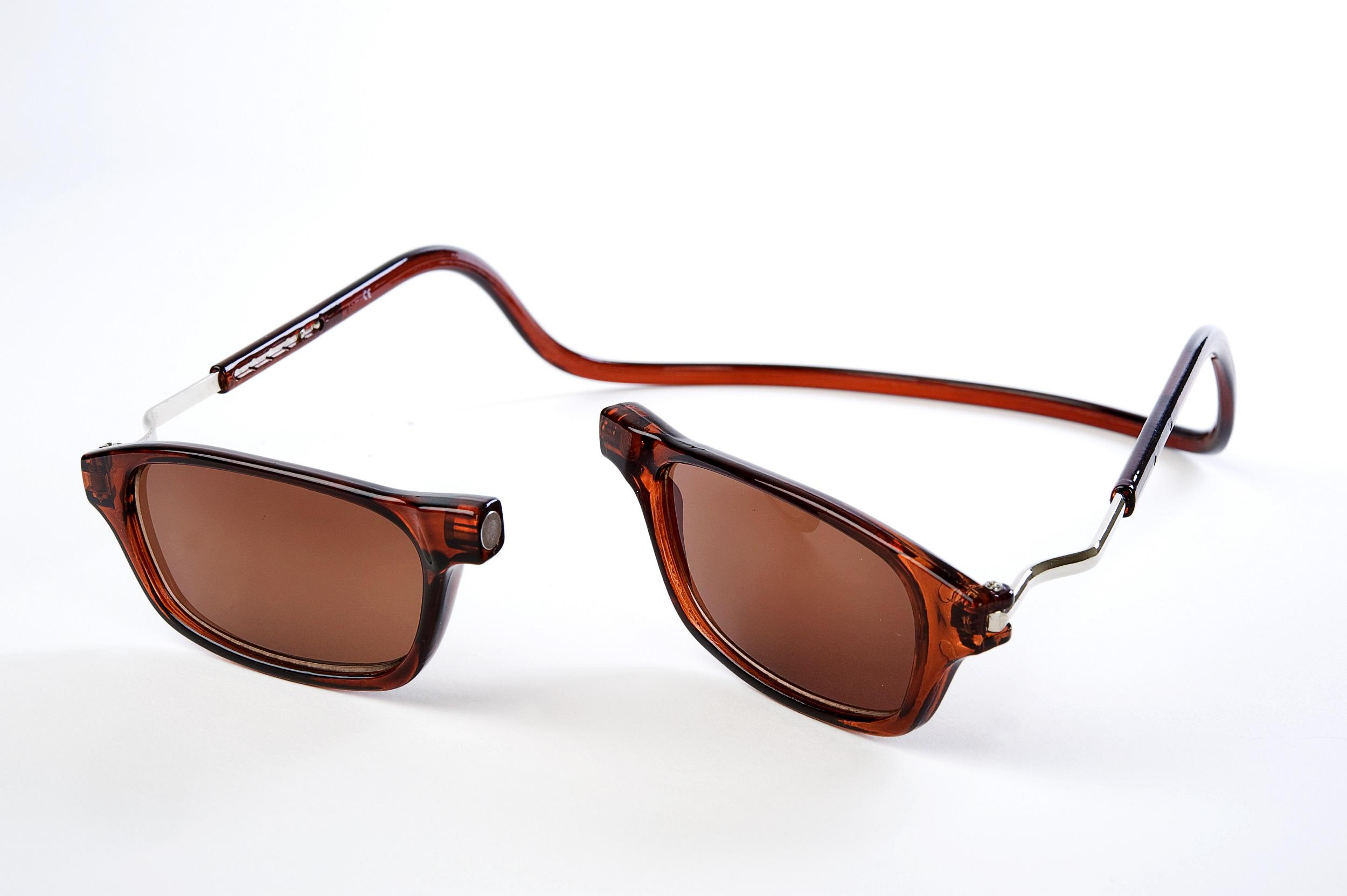 Easy Reader magneetleesbril leesbril met magneetsluiting model Classic XL zon zwart